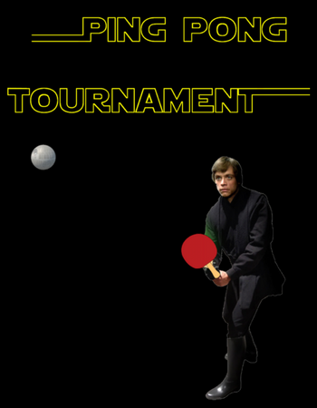 End of Vintage Ping Pong Tournament Image